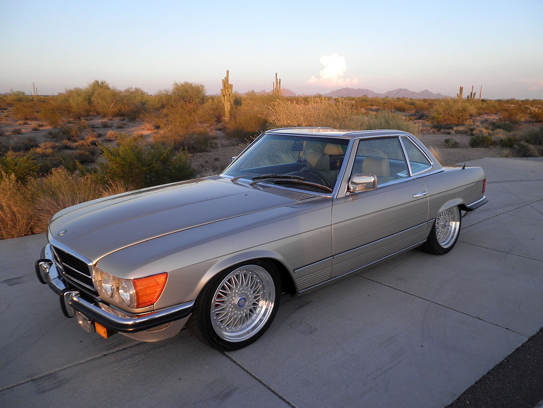 1980 Mercedes 450SL Convertible