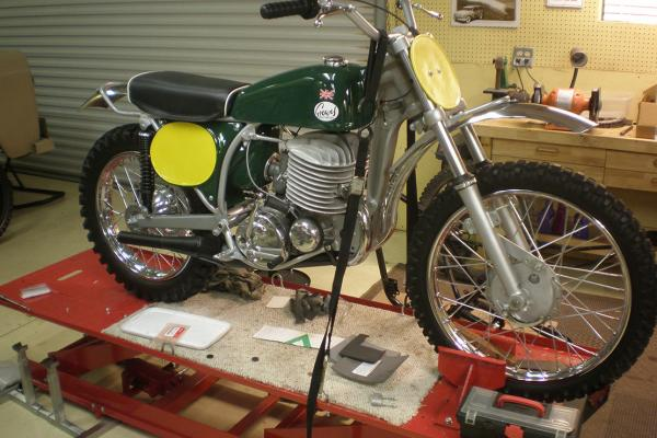 1968 Greeves 360 MX4