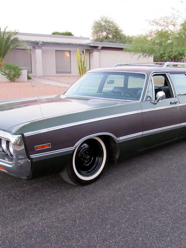 1971 Chrysler Town and Country Wagon